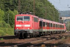 DB Regio 111 055-0 und 111 182-2 RE Würzburg - Frankfurt, Laufach Spessart