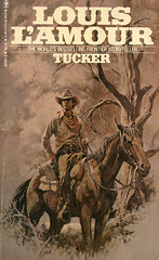 Novel-Tucker-by-Louis-L'Amour (Count_Strad) Tags: novel book pages read reading pulp louislamour western oldwest gunfight outlaw indian cowboy
