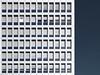 berliner bank-abschottung | berlin | 1606 (feliksbln) Tags: berlin himmel blau sky blue cielo azul fenster windows ventanas jalousi rollladen persianas blinds klimaanlage aire condicionado aircondition bürogebäude edificio de oficinas office building minimalismus minimalismo minimalism geometrie geometry geometría lines linien líneas wiederholung repetition repetición muster pattern patrón fassade fachada facade front architektur architecture arquitectura abstrakt abstracto abstract