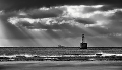 Rattray Lighthouse Mono (Grant Morris) Tags: rattraylighthouse rattraypoint lighthouse seaside seascape beach waterscape waterfront water sea eastcoast scotland sunshine grantmorris grantmorrisphotography canon