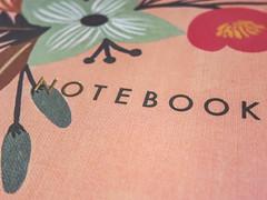 journal (jojoannabanana) Tags: 3652017 canonpowershot closeup floral flowers journal notebook riflepaperco s100