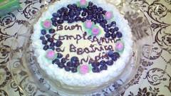 torta di compleanno (nadia mannino) Tags: mirtilli crema chantilly allitaliana panna compleanno cake