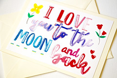 I love you to the moon and back handmade greeting card-15 (roisin.grace) Tags: greetingcards greetingcard handpainted handmade handmadecards handpaintedcards etsy etsyseller etsyshop etsyhandmade etsyfinds lovecards valentinesday valentines valentinescard iloveyoutothemoonandbackcard iloveyoutothemoonandback lovecard