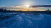 Foot Prints (kensparksphoto) Tags: foot prints snow december sunset cloudsstormssunsetssunrises cloud sky sun cold winter cans2s