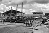 The Dhows of Zanzibar (virtualwayfarer) Tags: stonetown zanzibar tanzania docks harbor street streetphotography canon6d local locallife localculture africa realafrica commerce dailylife clouds dramaticsky skies boatharbor bike bikes bicycle dhow zanzibardhow sea seaside solotravel indietravel budgettravel people hardwork blackandwhite blackandwhitephotography