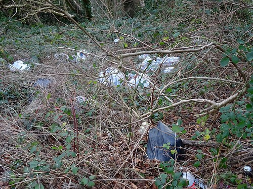 Fly Tipping, Cedar Walk, Upper Cwmbran 14 January 2017