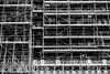 Scaffolding London (Jordan Barab) Tags: england london sonydscrx100m3 blackandwhite scaffold scaffolding worker street streetphotography bw bnw