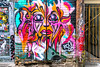 Vivid (Doors Closed) (A Great Capture) Tags: streetphotography street downtown alley graffitialley agreatcapture agc wwwagreatcapturecom adjm ash2276 ashleylduffus ald mobilejay jamesmitchell toronto on ontario canada canadian photographer northamerica torontoexplore winter l'hiver 2017 vivid urban graffiti grafitti art streetart