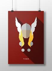 Thor (marciorodgs) Tags: thor deus do trovão filho de odin universo marvel dc liga justiça pôster cartaz cartazes design plano ilustração ilustrações desenho desenhos comics quadrinho quadrinhos super herói heróis vilão vilões xmen pôsteres