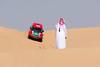 Spectator sport (D_Snapper) Tags: 2017dubaiinternationalbaja race racing rally desert dunes sand dune dubai alqudra uae canon eos arab dress man spectator fan kandura guthra eghal dishdashagandoora gandurah tawb taub landrover edge 322 local