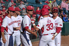 Louisiana-Monroe - Game 1-45 (Rhett Jefferson) Tags: arkansasrazorbacksbaseball blaineknight grantkoch hunterwilson jackkenley