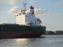 ship on the Mississippi River, New Orleans (shermaniac) Tags: boats louisiana neworleansla mississippiriver