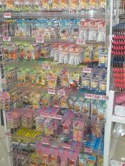 100_4374 (Amane-chan) Tags: food usa shop america japanese store texas candy box dollar pocky bento 100 snacks carrollton bentou yen pretz 100yen erasers daiso ramune carrolton candys iwako usadaiso