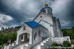 SIBERIAN WHITE MARBLE TEMPLE (RUSSIANTEXAN) Tags: church temple russia siberia marble 2012 krasnoyarsk abakan khakassia russiantrip anvarkhodzhaev yarygin svetanphotography
