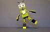 Little Happy Green Robot (AzureBrick) Tags: happy robot lego mixel