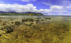 Hanalei Bay (mrubenstein01) Tags: ocean beach hawaii kauai tropical hanalei stregis hanaleibay stregisprinceville