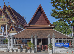 Wat Sawangfa Pruetaram Original Ubosot (DTHCB0118)   (Gerry Gantt Photography) Tags: thailand temple wat chonburi   thailand banglamungdistrict tambonnakluea  chonburi chonburi  tambonnaklueabanglamungdis watsawangfapruetaram tambonnaklueabanglamungdistrict