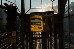 metro at grlitzer bahnhof (Winfried Veil) Tags: reflection berlin germany deutschland mirror metro spiegel 28mm ubahn spiegelung winfried mirroring grlitzerbahnhof 2015 untergrundbahn sonyalpha systemkamera winfriedveil sonyalpha7rii sonyalpha7rmarkii sonyfe20