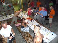 P1010269 (Corsi di Apnea didattica Apnea Academy) Tags: dinner amici livorno apnea grigliata antignano onebreath