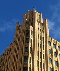 Grace Building, Sydney (Oriolus84) Tags: city building tower heritage architecture facade corner hotel sydney australia headquarters historic newsouthwales cbd former turret gracebuilding gracebrothers gracebros thegracehotelsydney 77yorkstreet