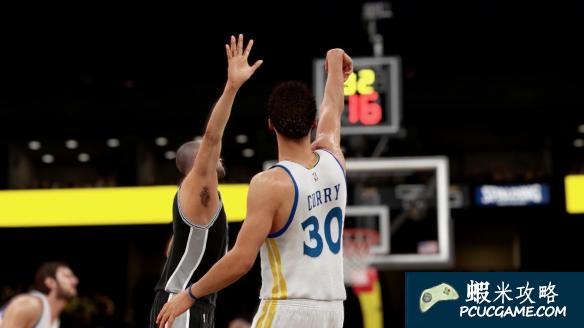 NBA 2K16 跳步上籃按鍵操作技巧