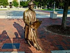 Johnny Mercer - Ellis Square - Savannah GA (Meridith112) Tags: summer sculpture bronze ga georgia nikon south august savannah moonriver babyitscoldoutside 2015 johnnymercer nikon2485 ellissquare susiechisholm nikond610 savannahian