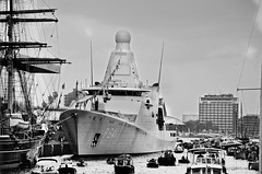 Not a toy for a boy! (WorldPixels) Tags: dutch amsterdam marine navy vessel sail 2015