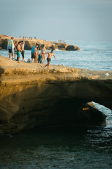 282 (nelson.kimberli) Tags: ocean california travel sunset sandiego sunsetcliffs cliffdivers daredevils luscombspoint