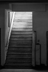 stairway (born ghost) Tags: bw italy architecture stairs blackwhite geometry angles tone upwards