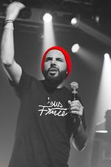 Brav Du Havre (Uthman Chachou) Tags: red people music face rouge concert rapmusic brav