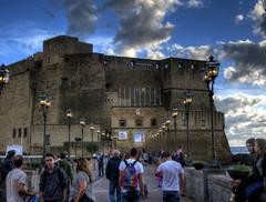 Castel dell'Ovo (CeBepuH) Tags: italy geotagged campania ita napoli naples hdr casteldellovo vomero neapol eggcastle  geo:lat=4082942667 geo:lon=1424785371