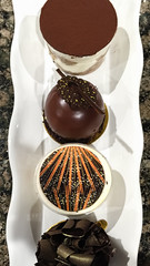 Quartet of desserts (dalecruse) Tags: lightroom finedining finefood food indoor foods dining finefoods delicious indoors