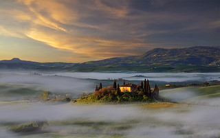 Belvedere: Val d'Orcia