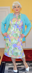 Ingrid020412 (ingrid_bach61) Tags: dress mature cardigan strickjacke kleid