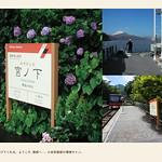 地域交通機関の環境サインの写真