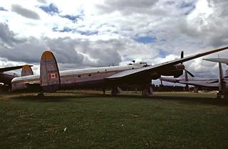 Avro Lancaster B Mk.X KB786 - Strathallan Collection, 1976