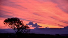 Snowdonian Sunrise (Joan's Pics 2012) Tags: pink explore redsky anglesey snowdoniansunrise moringview