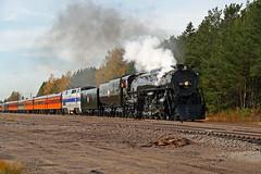 The Milwaukee Road 261 at Bruno, Minnesota (dlanek) Tags: 261 steamlocomotive 484 milw milwaukeeroad