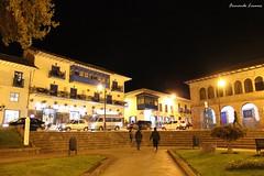 Noche cusqueña (Fernando Lecaros) Tags: city peru cuzco noche cusco ciudad sierra andes cosmopolis metropoli kuntur