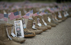 The Cost Of War (Joey_porma) Tags: war boots soldiers veteransday forthood