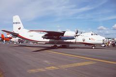 1107.jpg (Al Henderson) Tags: england unitedkingdom gloucestershire airshow gb 1998 raf 1107 fairford clank riat antonov dunfield airtattoo an30 openskies czechairforce
