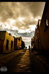 Espejos de concreto (artruds) Tags: reflection rock clouds mexico lights construction antique bernal antiguo pea arquitecture noriega