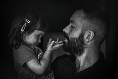 teasing the beard 2 with uncle Steve (stocks photography.) Tags: beard photography photographer stocks stocksphotography michaelmarsh