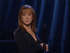 Reaction Animated GIF (messiole) Tags: comedy queens kathy disappointed griffin reaction ifttt giphy