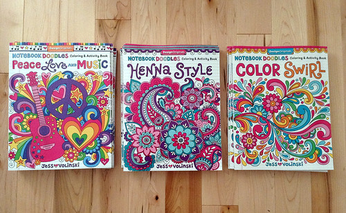 New Notebook Doodles Coloring Books