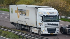 BZ-PV-53 (panmanstan) Tags: truck wagon motorway m18 yorkshire transport lorry commercial vehicle freight daf langham xf haulage hgv