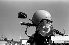 If not ride (shimanosu) Tags: leica bw film monochrome trix d76 triumph elmar f35 5cm ⅲf