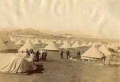 Norvals Pont Camp, c.1901.