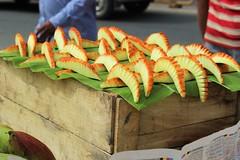 Artistic Fruit cutting (bluelotus92) Tags: india streets art fruit design artistic market cut mango cutting karnataka mysore mysuru devarajursmarket devarajaursmarket totapuri cutmango totapari artisticfruitcutting