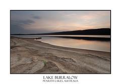 Dusk at Lake Burralow (sugarbellaleah) Tags: sunset lake water rural wonderful landscape countryside still scenery colours sundown dusk patterns sandy peaceful australia bluemountains calm lakeside textures soil tranquil penrith penrithlakes silty lakeburralow